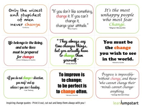 9 quotes about change