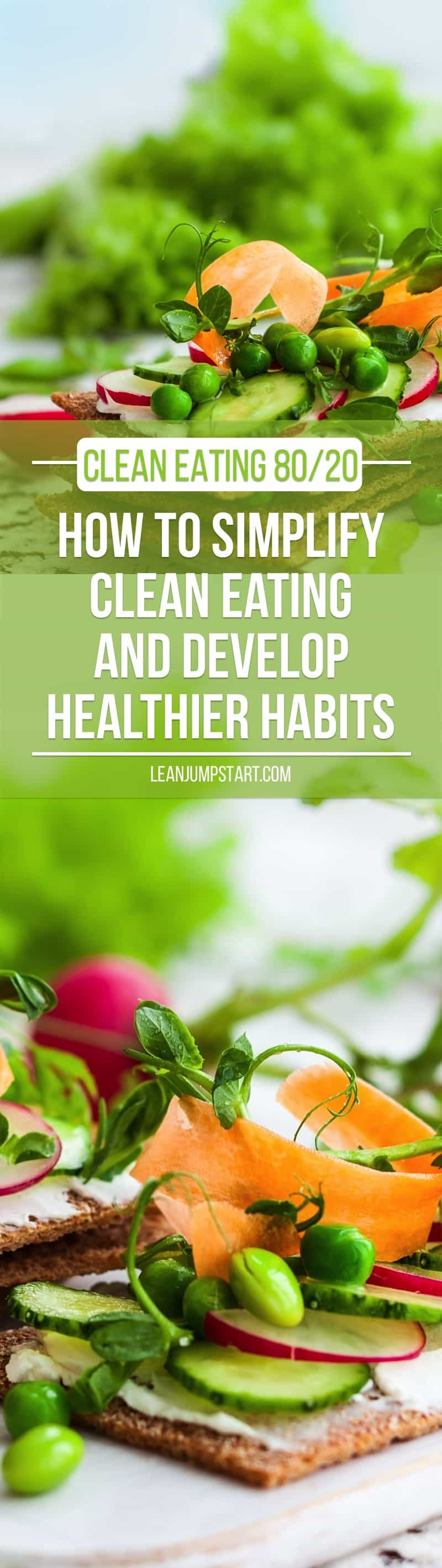 how to simplify your clean eating diet and develop healthy habits