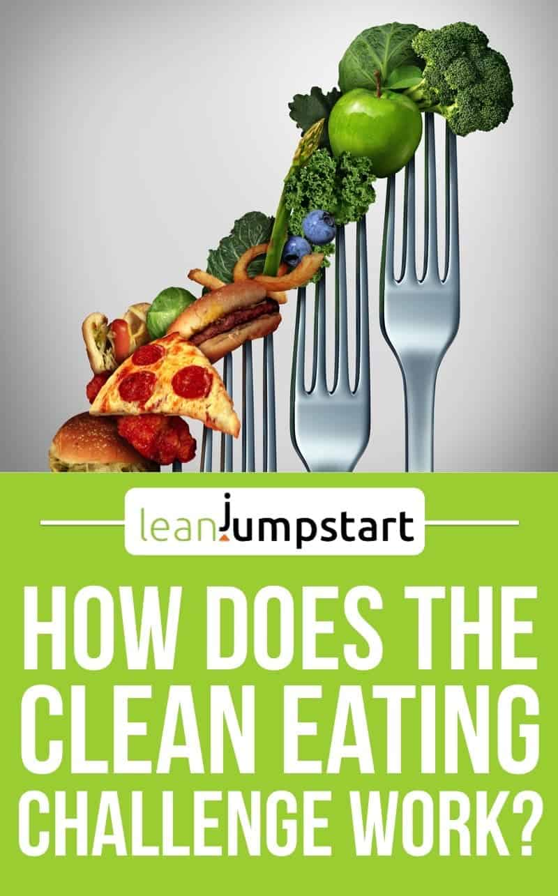 healthy eating habits: how does the clean eating challenge work? Click through!