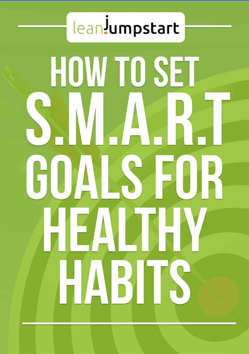 setting smart goals for clean and healthy eating habits