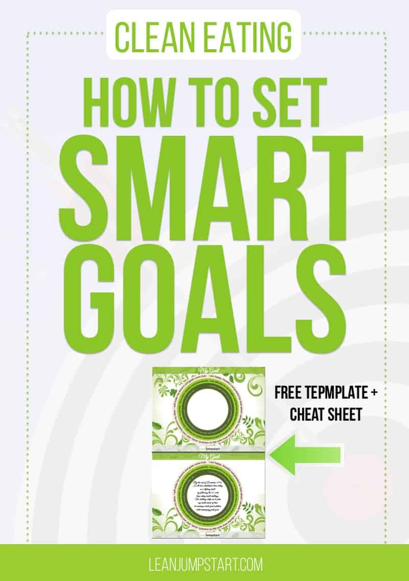 smart goals examples how to set a goal for a clean eating diet easily smart goals examples for health and fitness goals