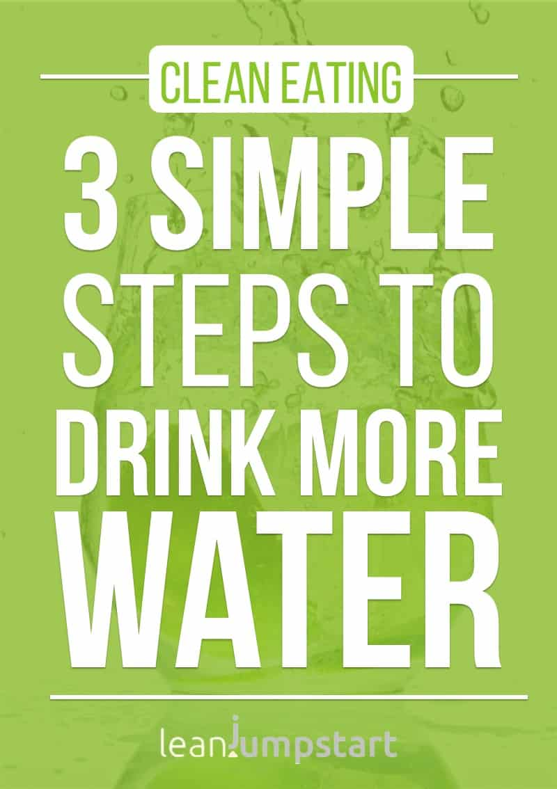 how to drink water effectively: 3 simple steps