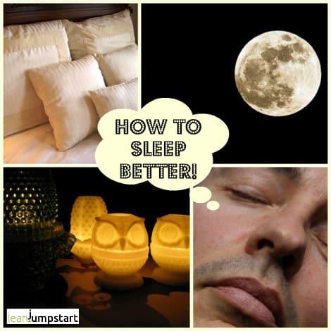 Ways to get to sleep