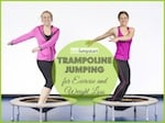 trampoline jumping small