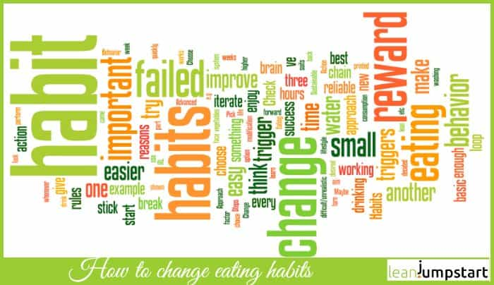 how to change eating habits