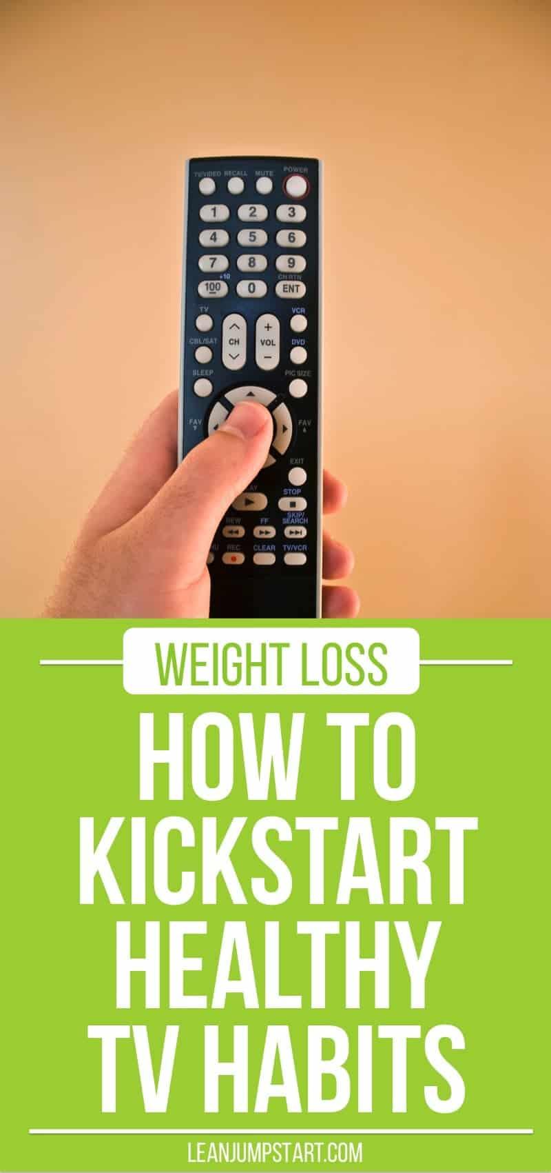 TV Habits: how to kickstart healthier TV habits