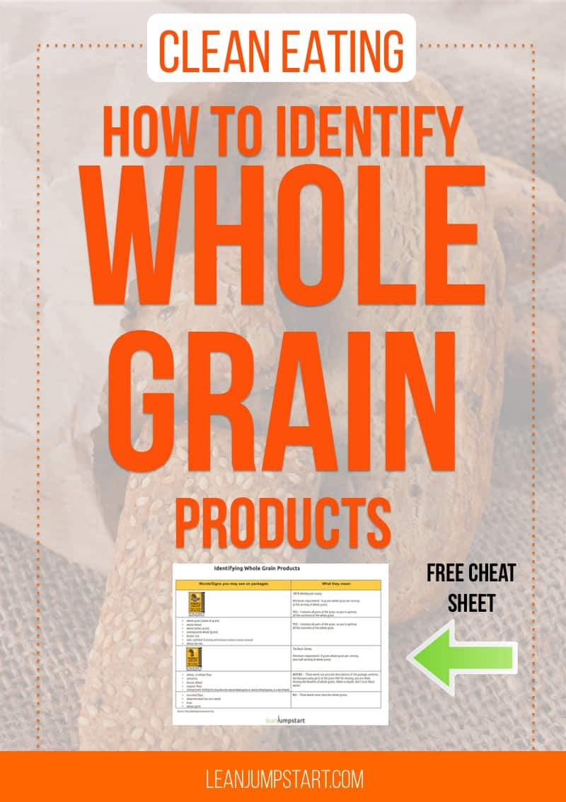 whole grain foods: How to identify whole grain products