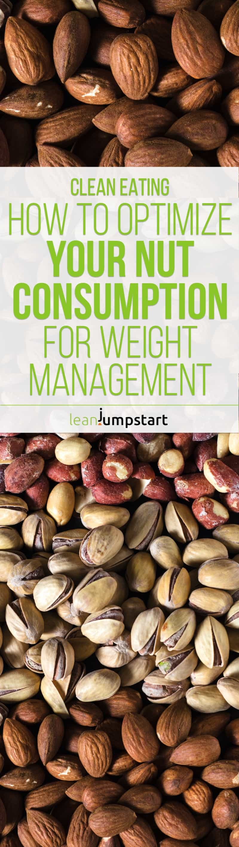 How to optimize nut consumption in your clean eating kitchen for best weight management. Click through!