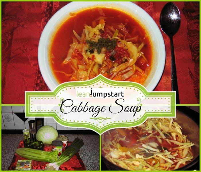 cabbage soup recipe and ingredients