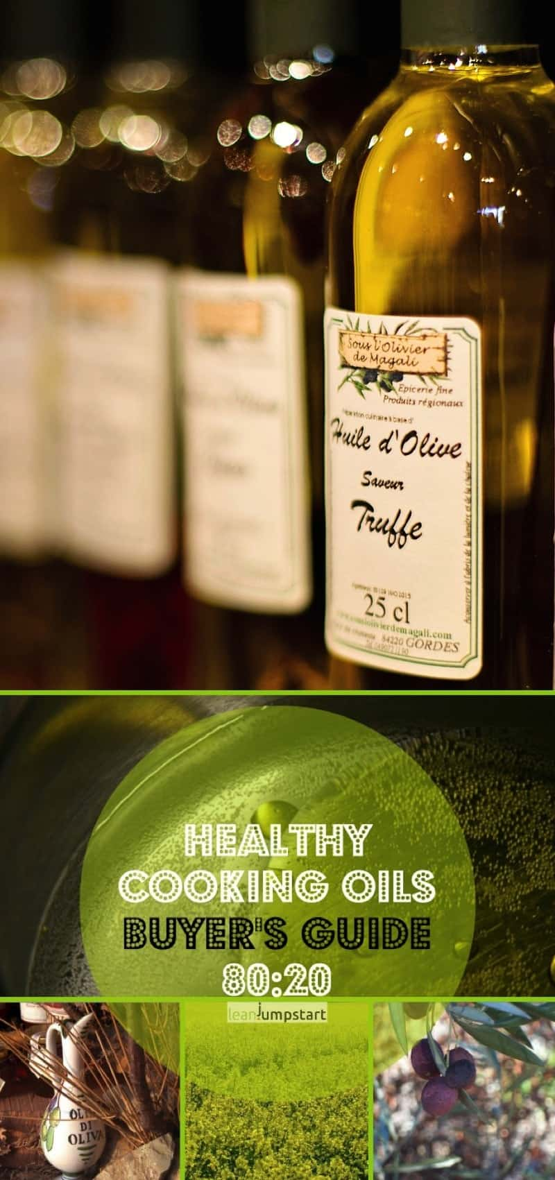 How to buy healthy cooking oils for clean eating