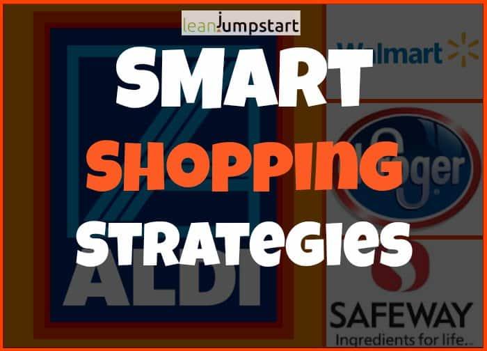 smart shopping strategies - different retailer brands
