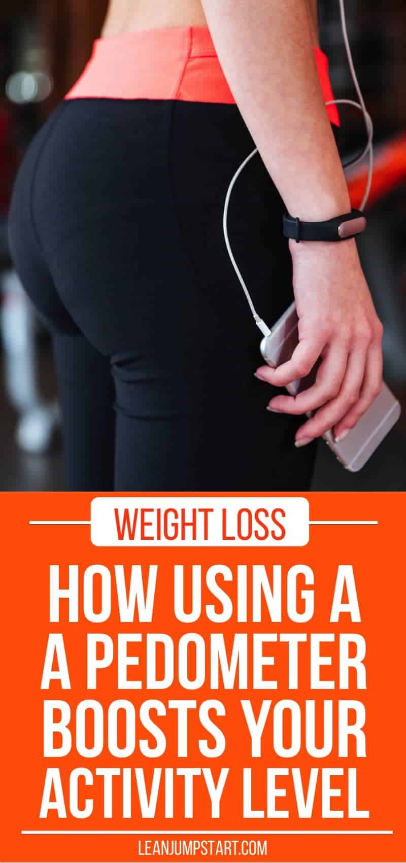how using a pedometer boosts activity level and weight loss