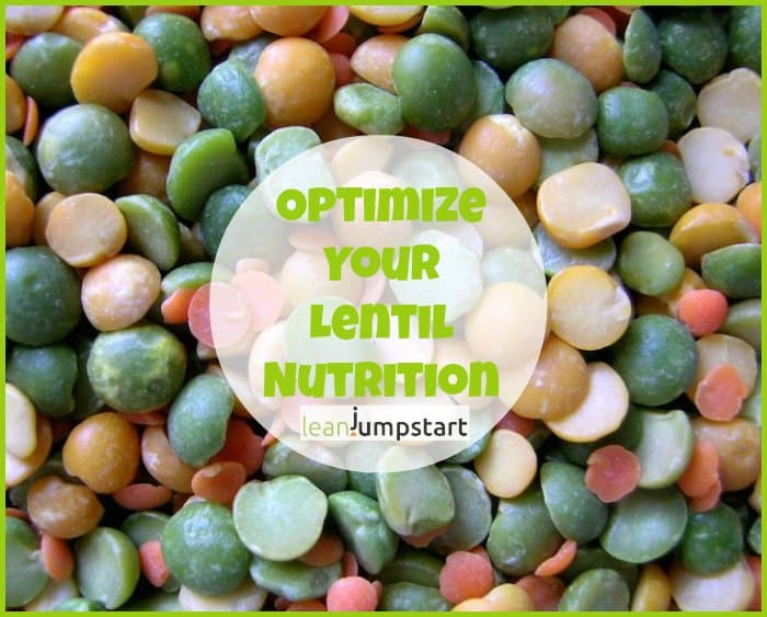 red, green and brown lentil nutrition