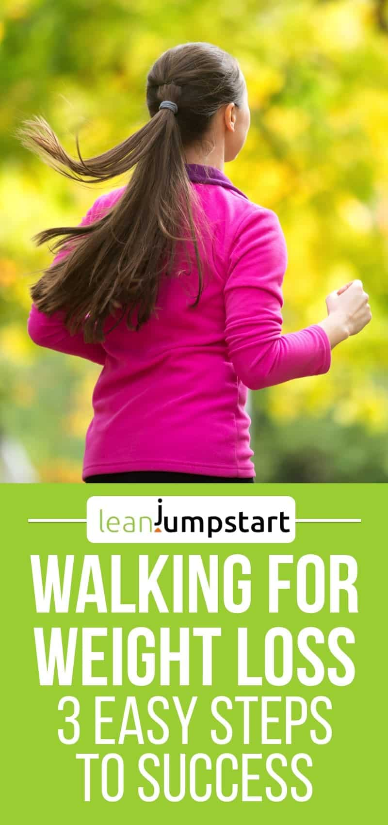 walking for weight loss: 3 simple steps for success