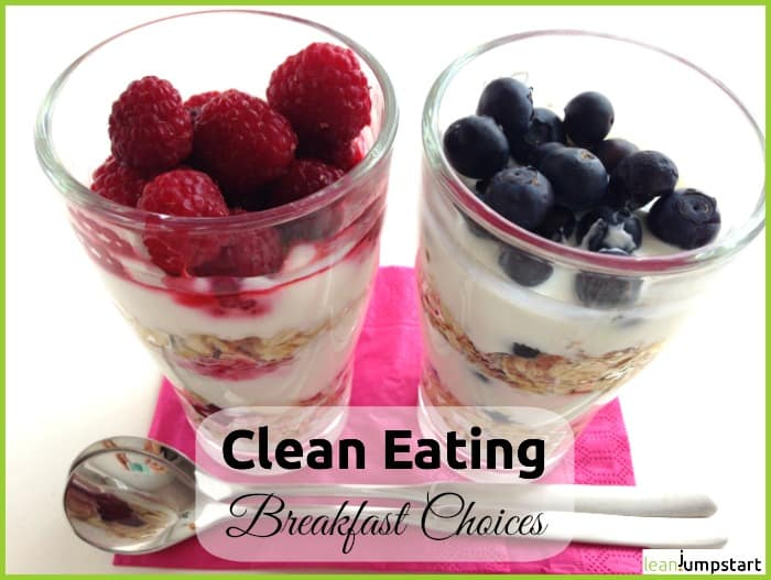 clean eating breakfast
