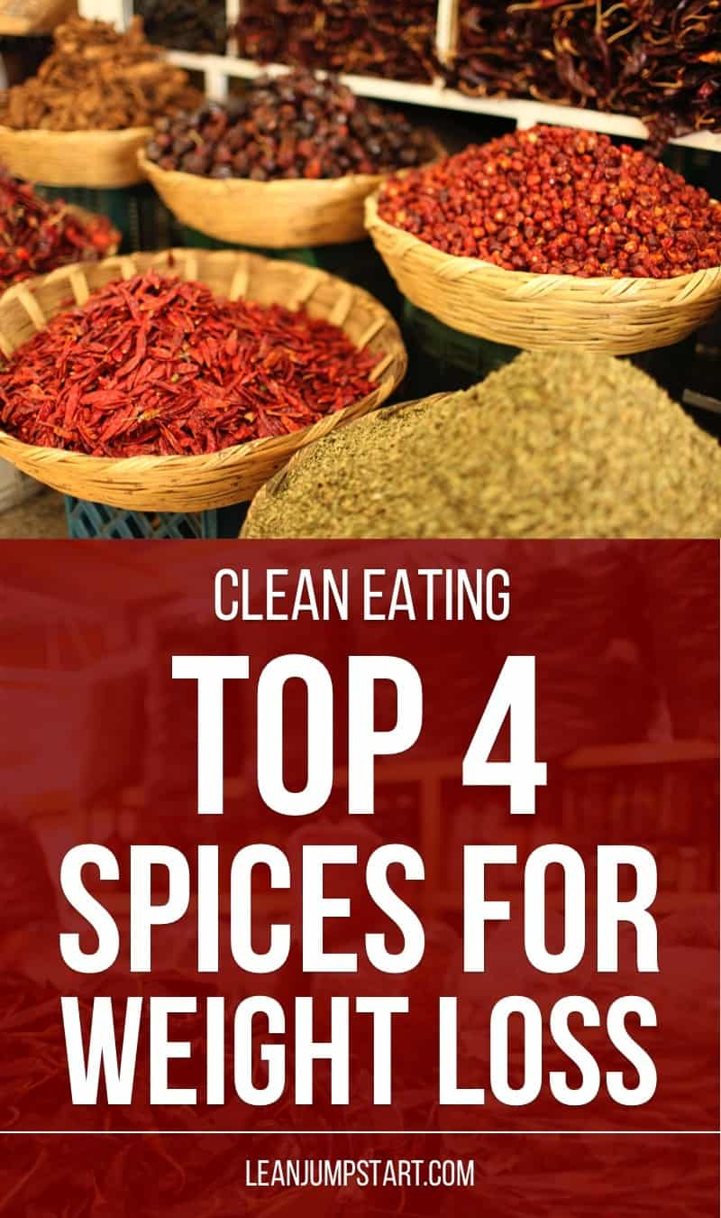 top 4 healthy spices