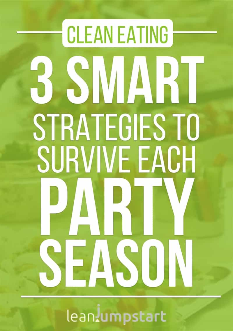 healthy party food ideas + eat clean party survival kit