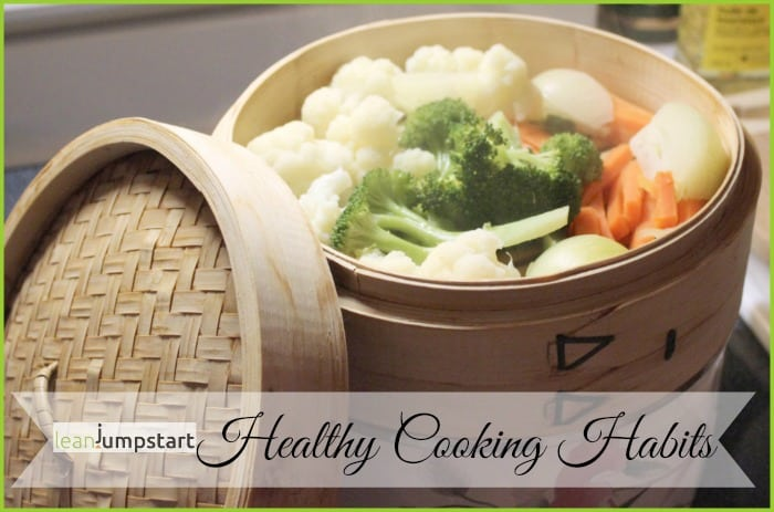 healthy cooking habit: bamboo steamer basket