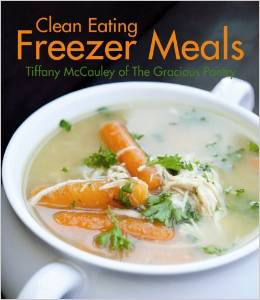 clean eating freezer meals book