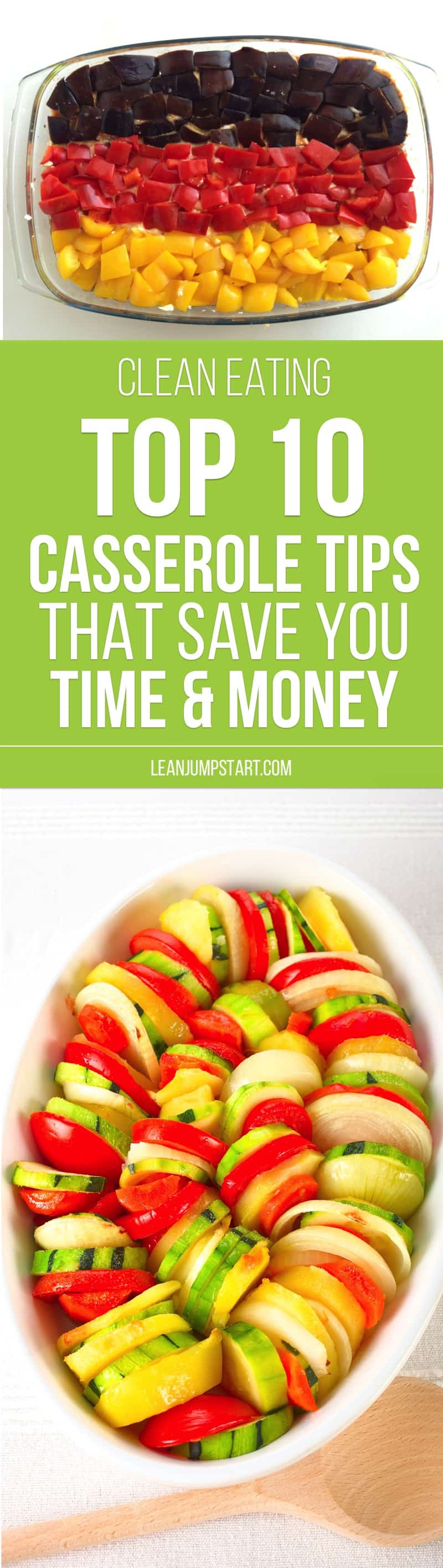 Top 10 casserole tips that save you time and money and why healthy casserole recipes are so important in the clean eating kitchen