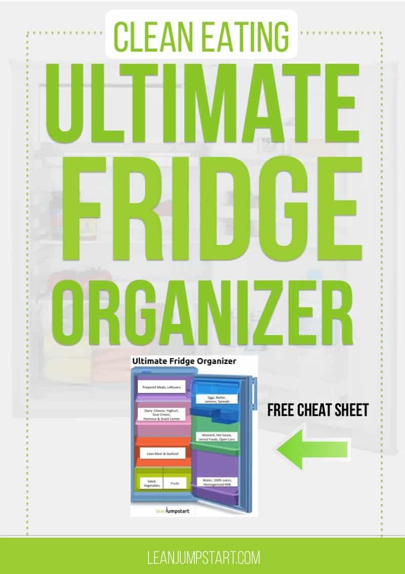 fridge organizer cheat sheet