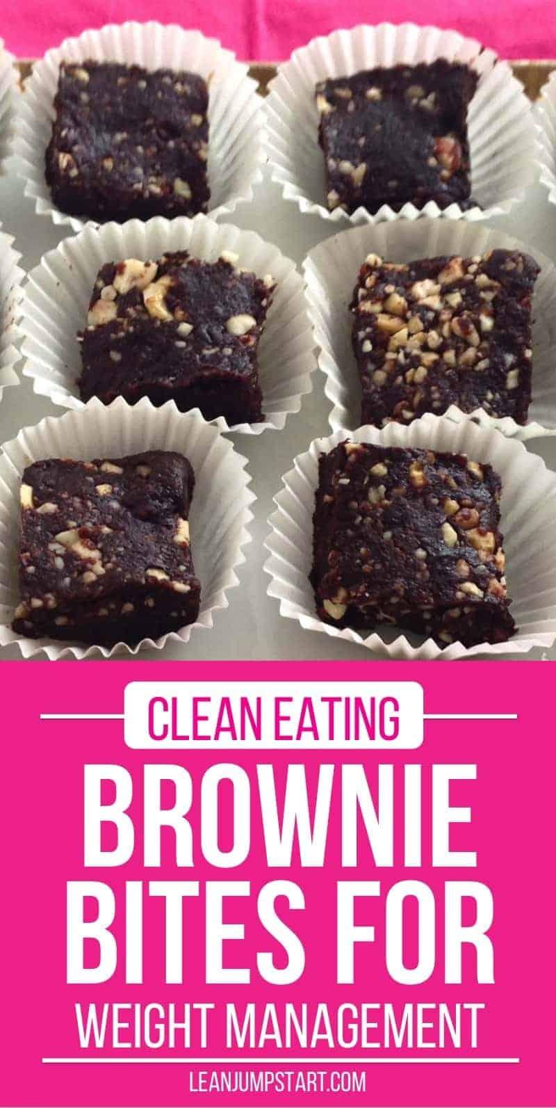 clean eating brownie bites recipe