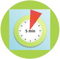 5 minutes habits