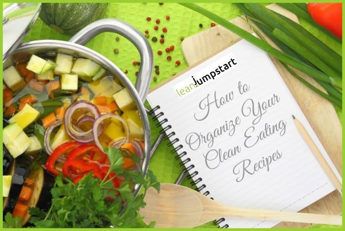 recipe organization - clean eating recipes