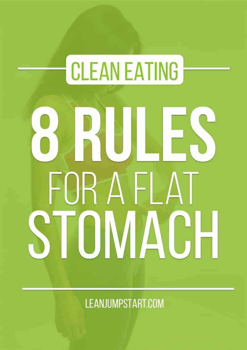Flat Stomach Foods + 8 Rules for a Flat Tummy