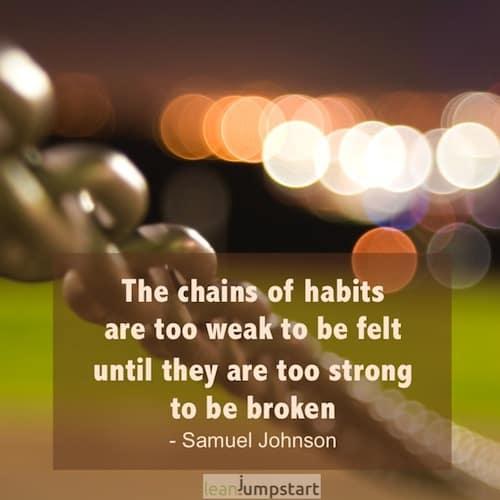 picture quote habit chains