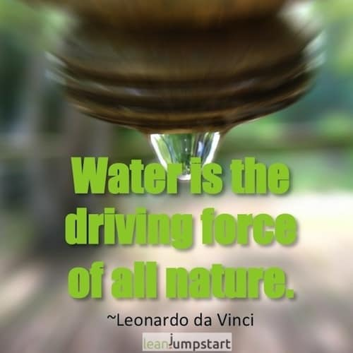 picture quote water