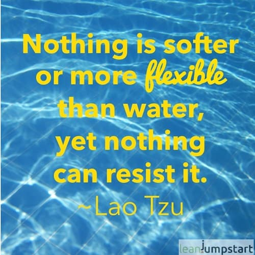 quotea about water from Lao Tzu
