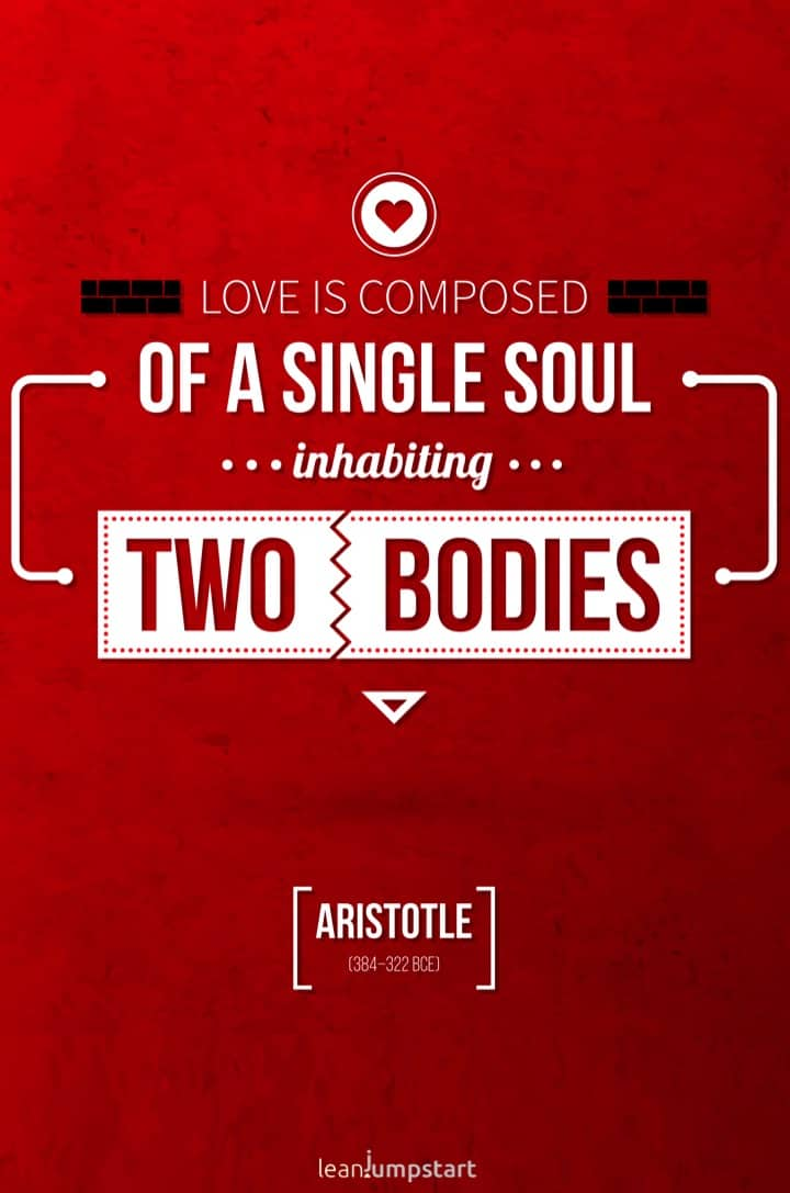 Aristotele love quote