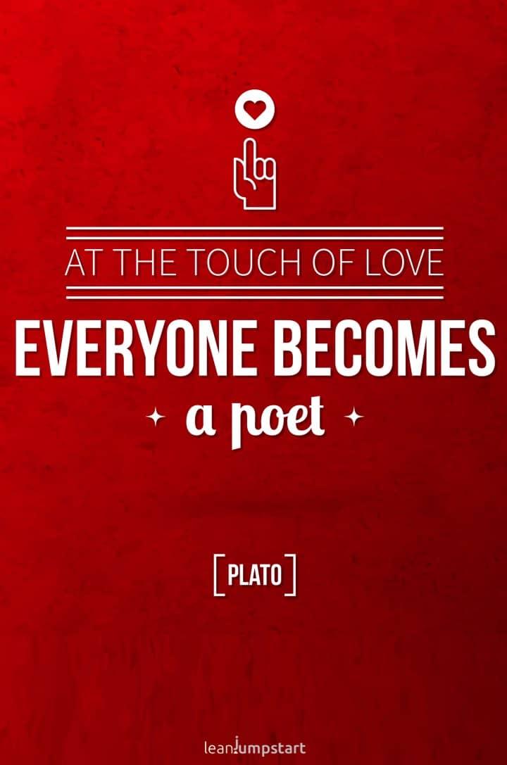 Plato love quote