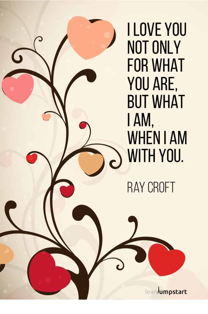 Ray Croft love quote