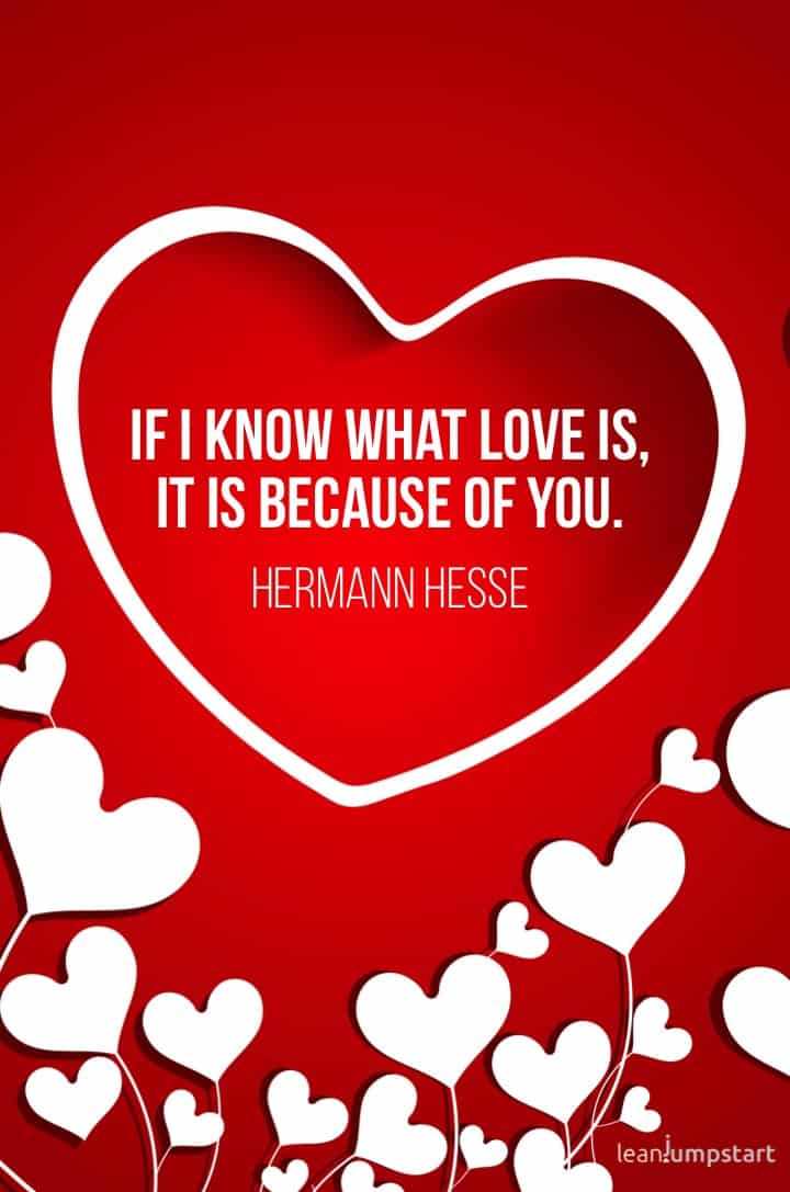 herman hesse love quote