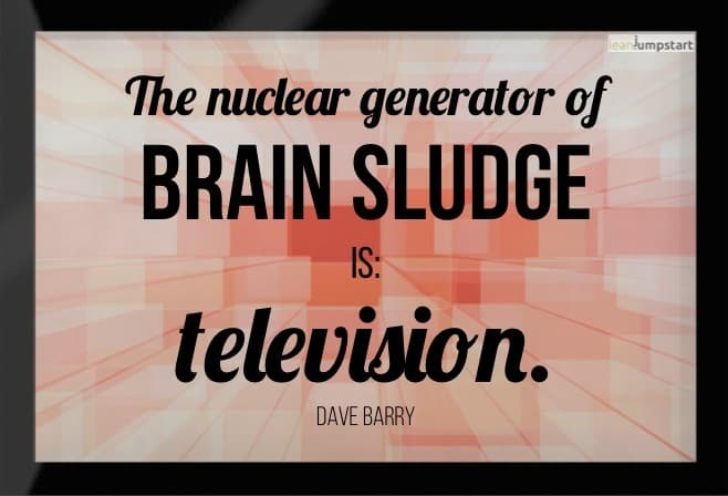 picture quote about TV Dave Barry