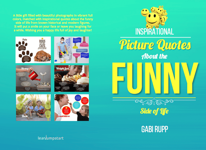 funny life quotes cover and back