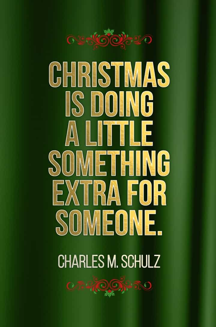 Christmas quote Charles schulz