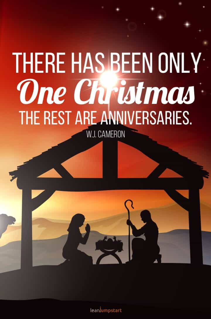 one Christmas quote