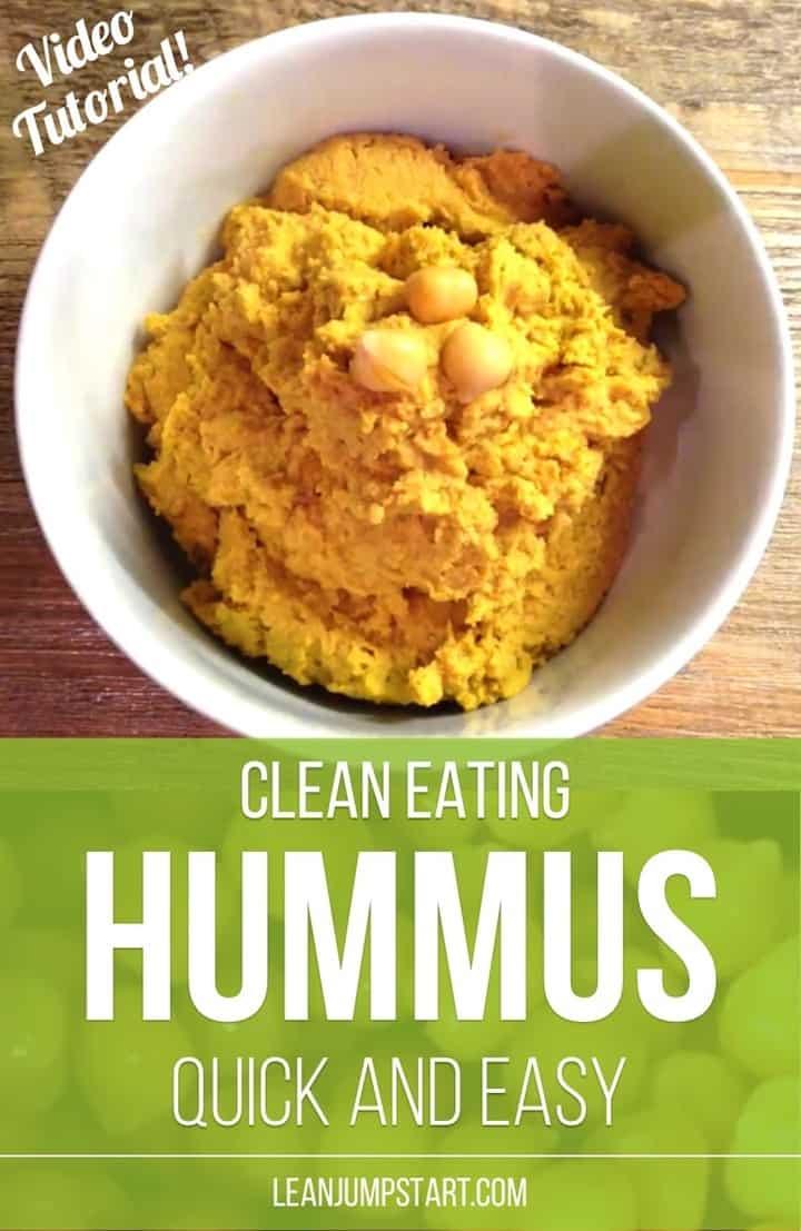 clean eating hummus
