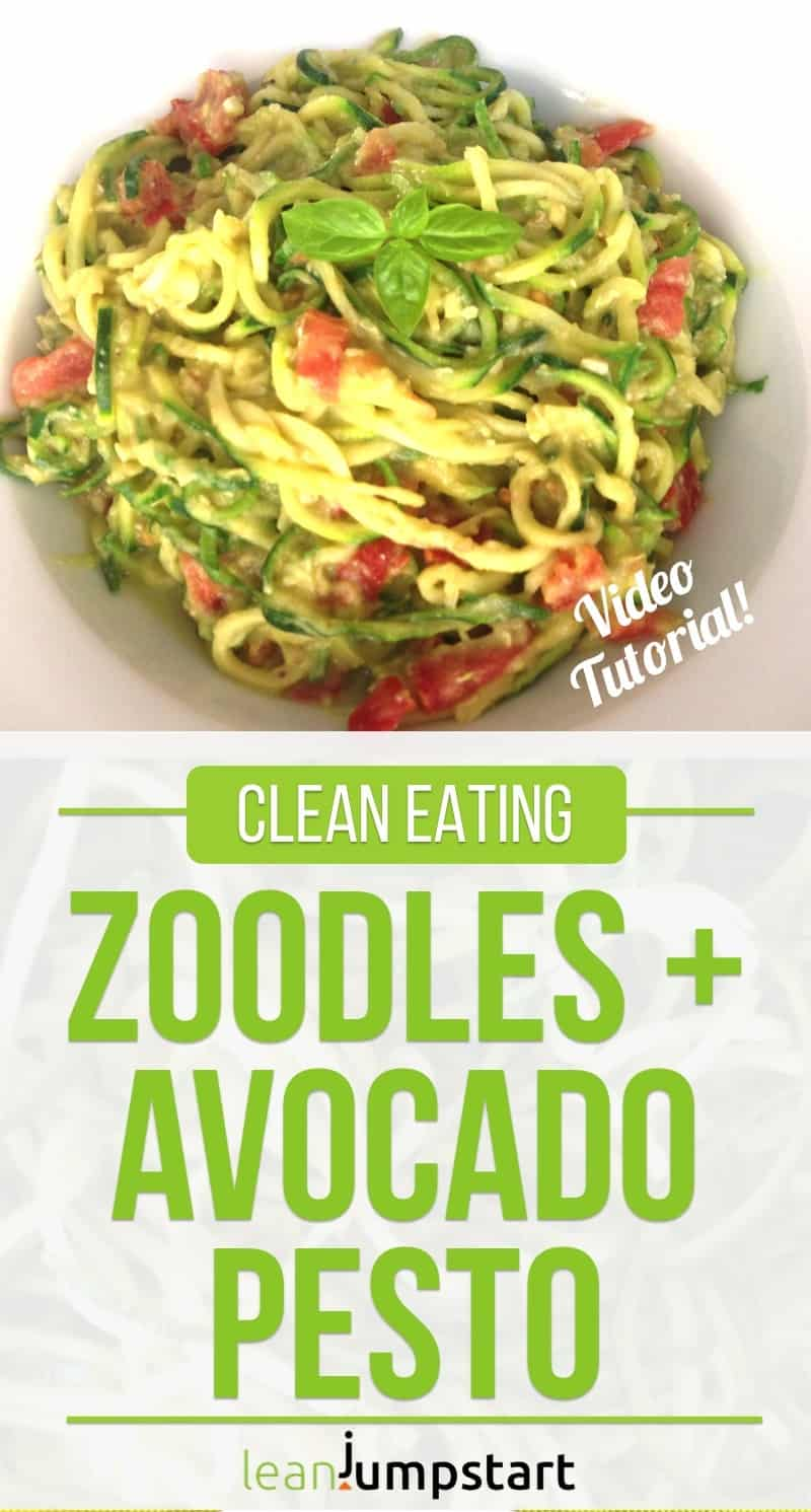 clean eating zoodles recipe