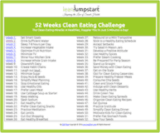 clean eating schedule thumbnail