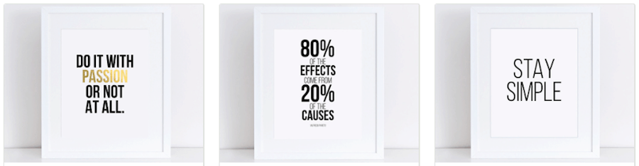 mottos for better productivity