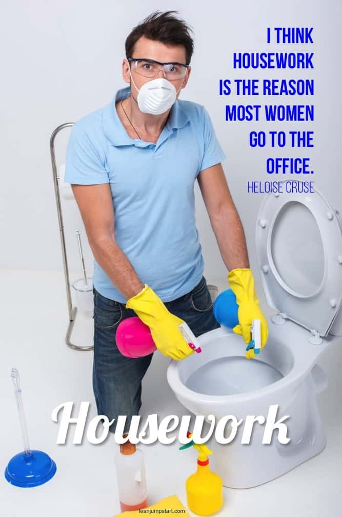 funny housework quote
