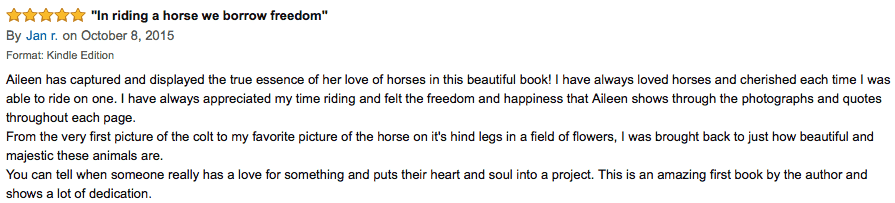horses quotes review