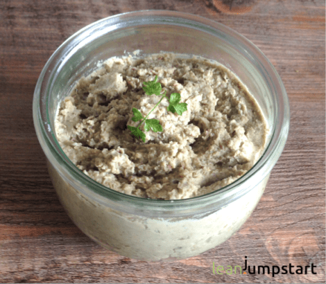 clean eating lentil spread recipe