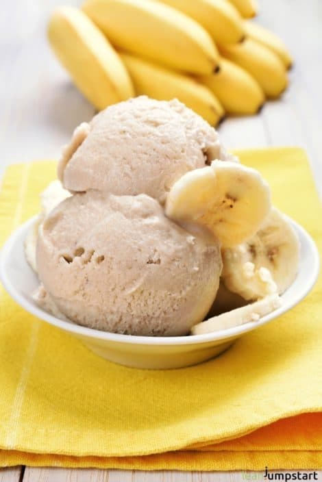 FROZEN BANANA ICE CREAM