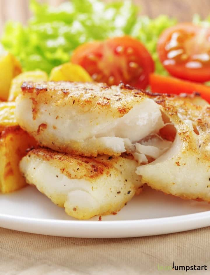 Cod Fish Recipes How To Cook Pan Fried Cod The Healthy Way