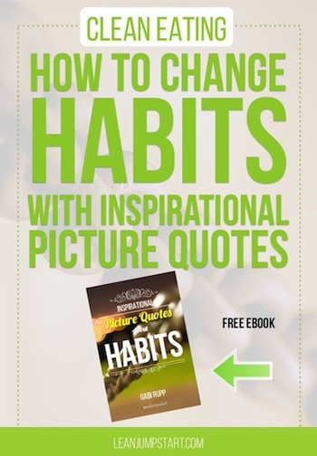 Changing Habitswith Inspirational Picture Quotes Book + Video